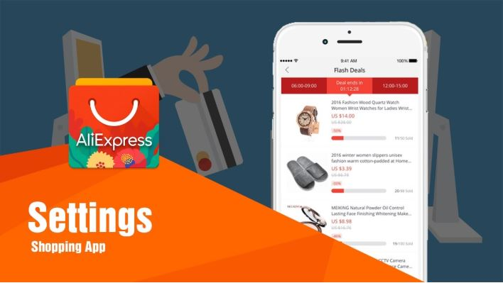 AliExpress ứng dụng mua sắm online