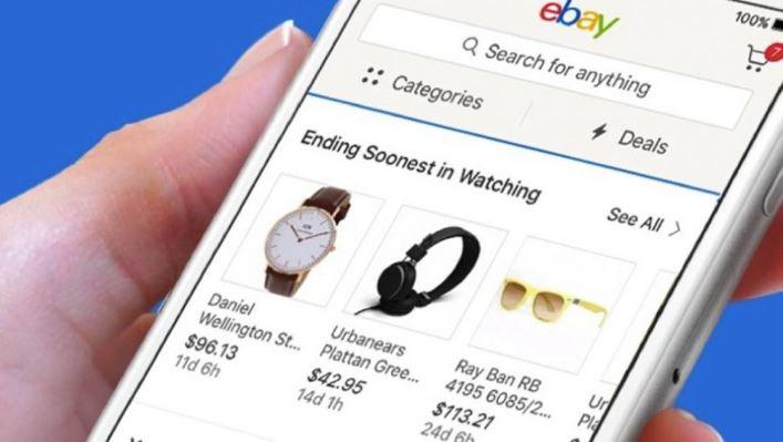 eBay ứng dụng mua sắm online