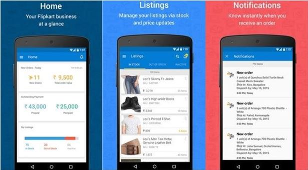 Flipkart ứng dụng mua sắm online