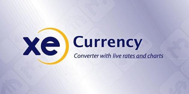 Ứng dụng smartphone Xe Currency giúp quy đổi tiền tệ nhanh chóng