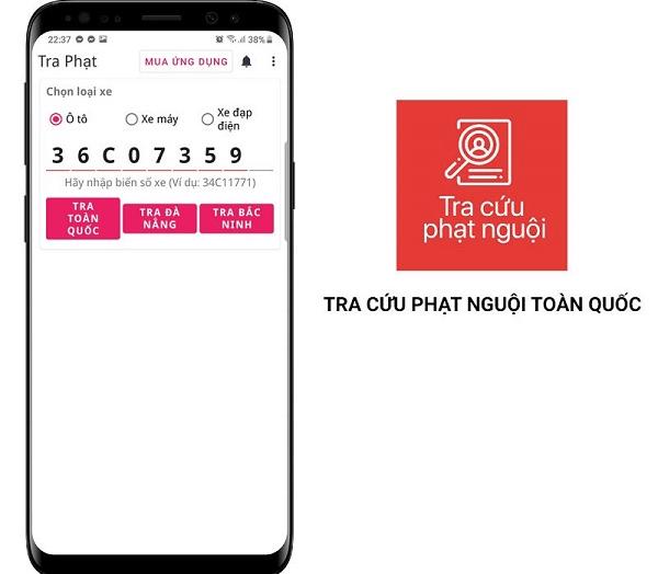 App Tra Cứu Biển Số Xe