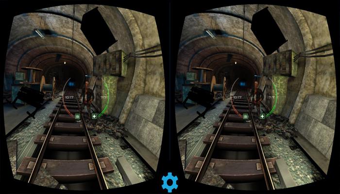 Game cho kính thực tế ảo Zombie Shooter