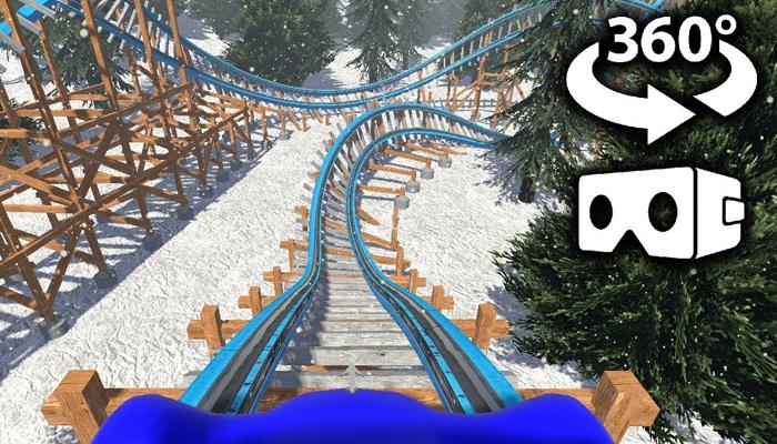 Game tàu lượn thực tế ảo Roller Coaster VR