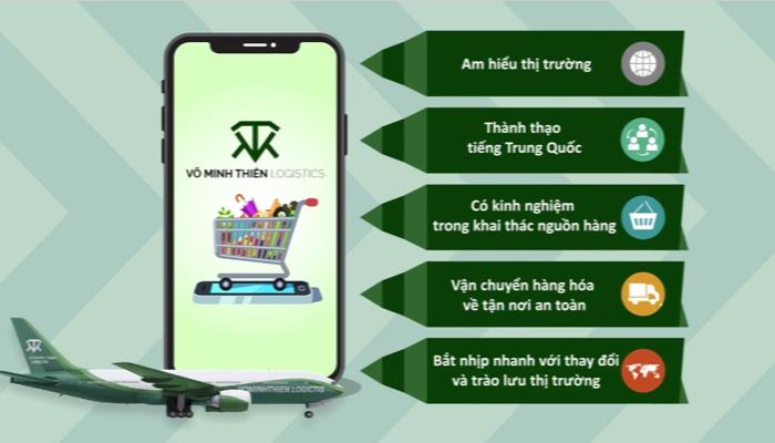 Dịch vụ đặt hàng hộ Trung Quốc - Võ Minh Thiên